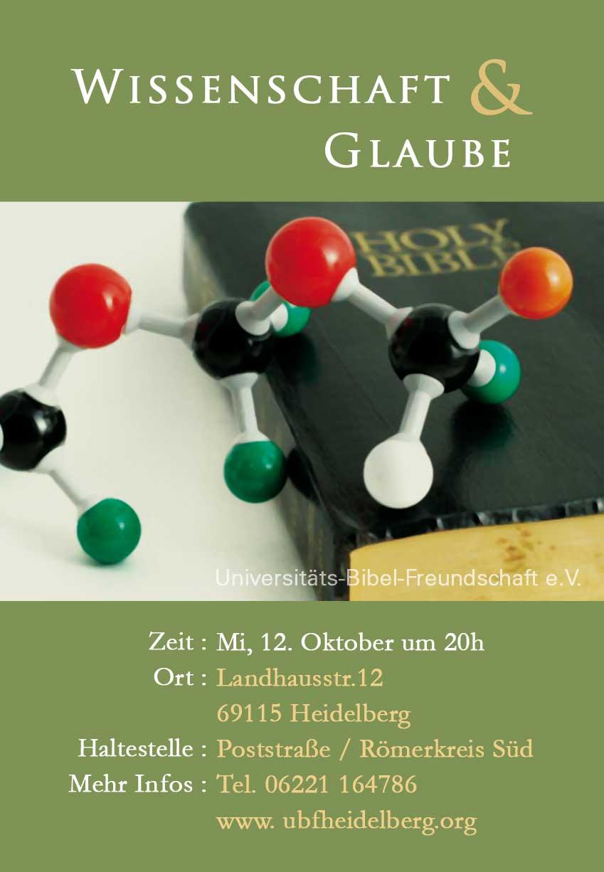 Vortrag über den scheinbaren Widerspruch, der zwischen dem wissenschaftlichen Denken und dem Glauben an den Schöpfer besteht.